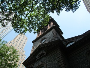 City scenes--St. Paul's Chapel