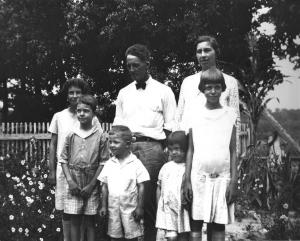 Family portrait, 1929